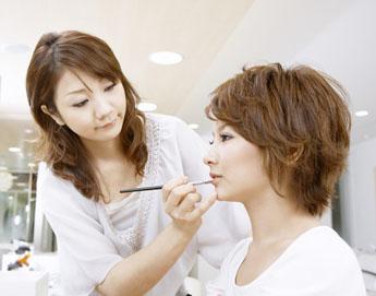 职业化妆师