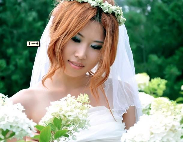常用新娘造型