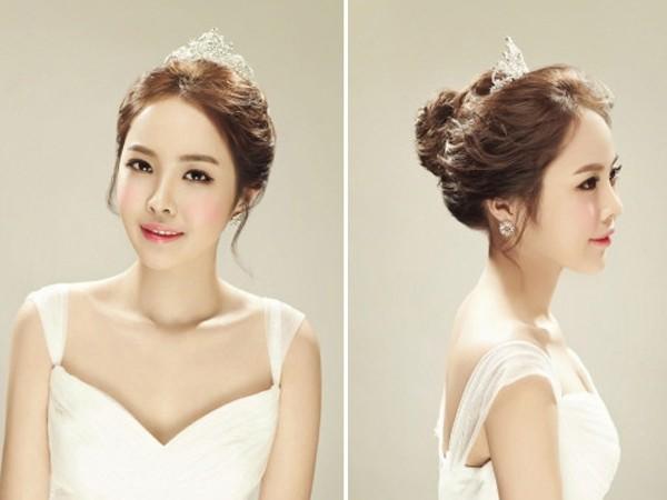 韩版新娘发型图片2017