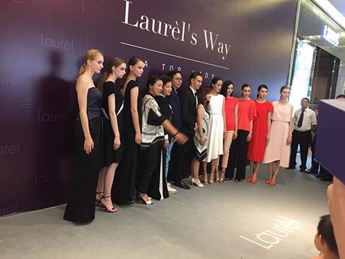 德国高端女装品牌Laurèl开业发布会,时代化妆学校提供化妆造型