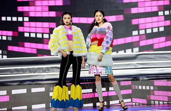 2016中国(广州)国际模特大赛总决赛,时代国际美妆学院提供化